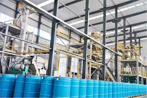 New molecular sieve production plant