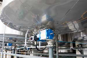 New synthetic zeolite powder production line